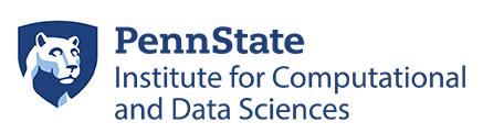 Penn State Institute for Computational and Data Science Logo