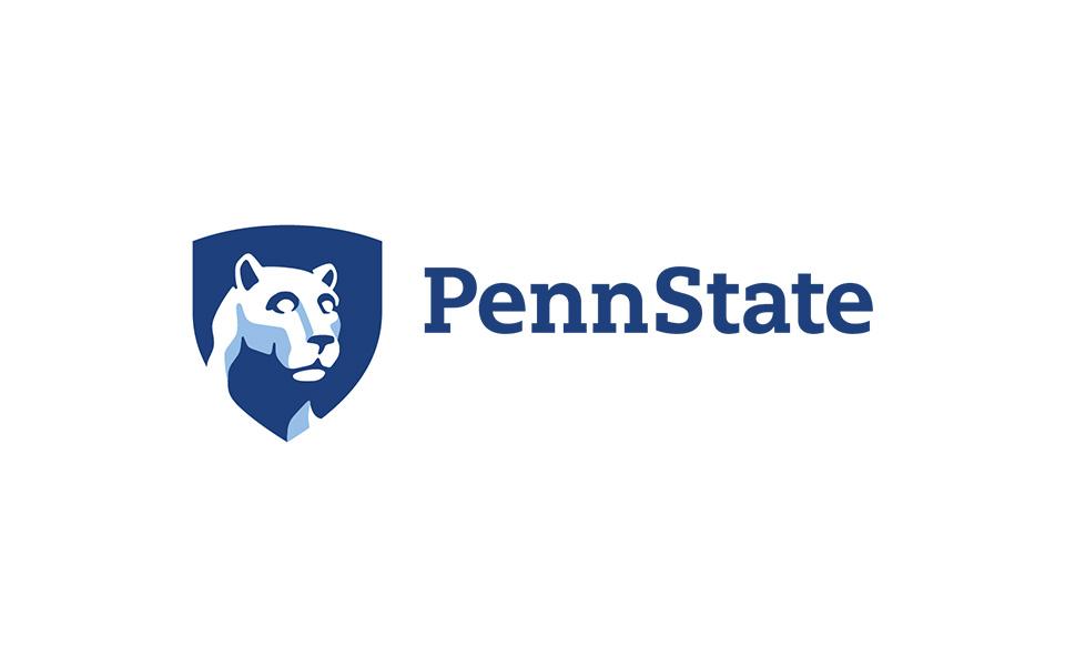 penn state university logo on white background