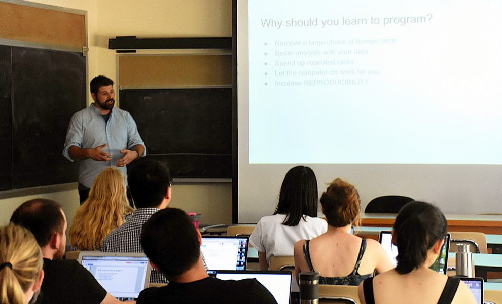 Python coding workshops to fill gap for research community | PSU