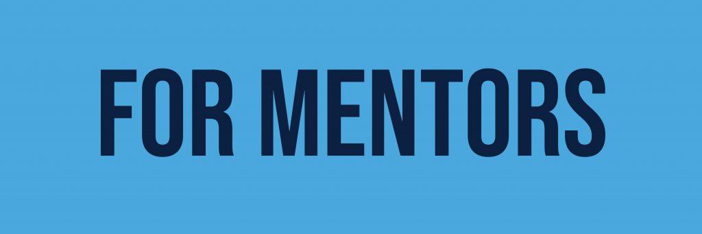 For Mentors